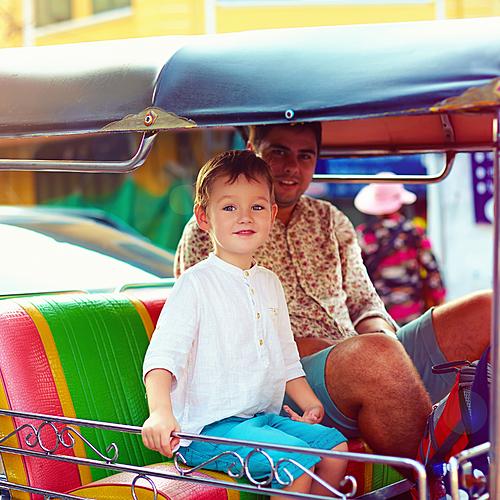 En famille au pays du Sourire - Bangkok -