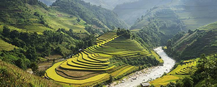 Norte y centro de Vietnam con Siem Reap