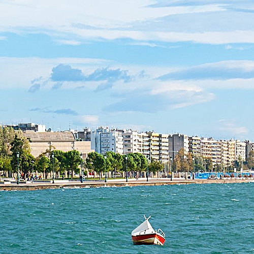 Le Nord au départ de Thessalonique - Chalcidique -