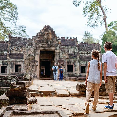 Le pays khmer pour petits et grands - Phnom Penh -