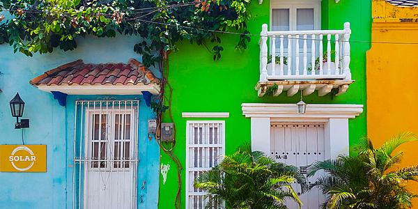 Maison typique de Carthagène