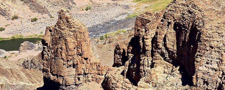 Namibische Kontraste mit Fish River Canyon Verlängerung