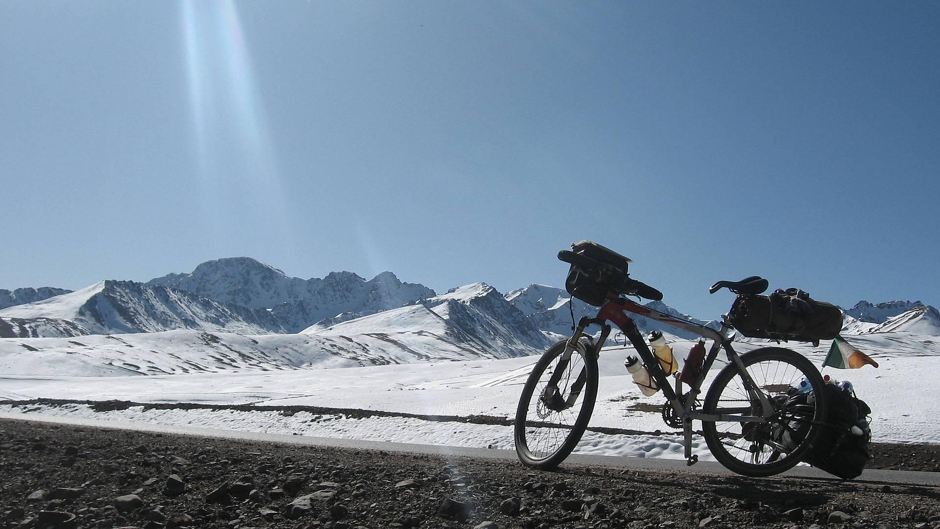 Trek et VTT dans les prairies des nomades
