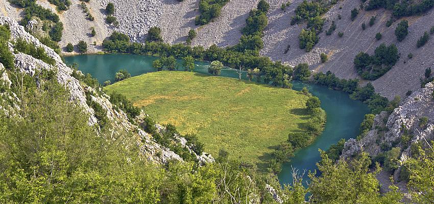 The Krupa river, Croatia
