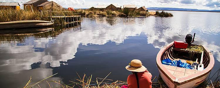 Paisajes de Perú con Nazca y Amantani