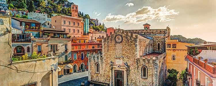 Maravillas de Sicilia en grupo