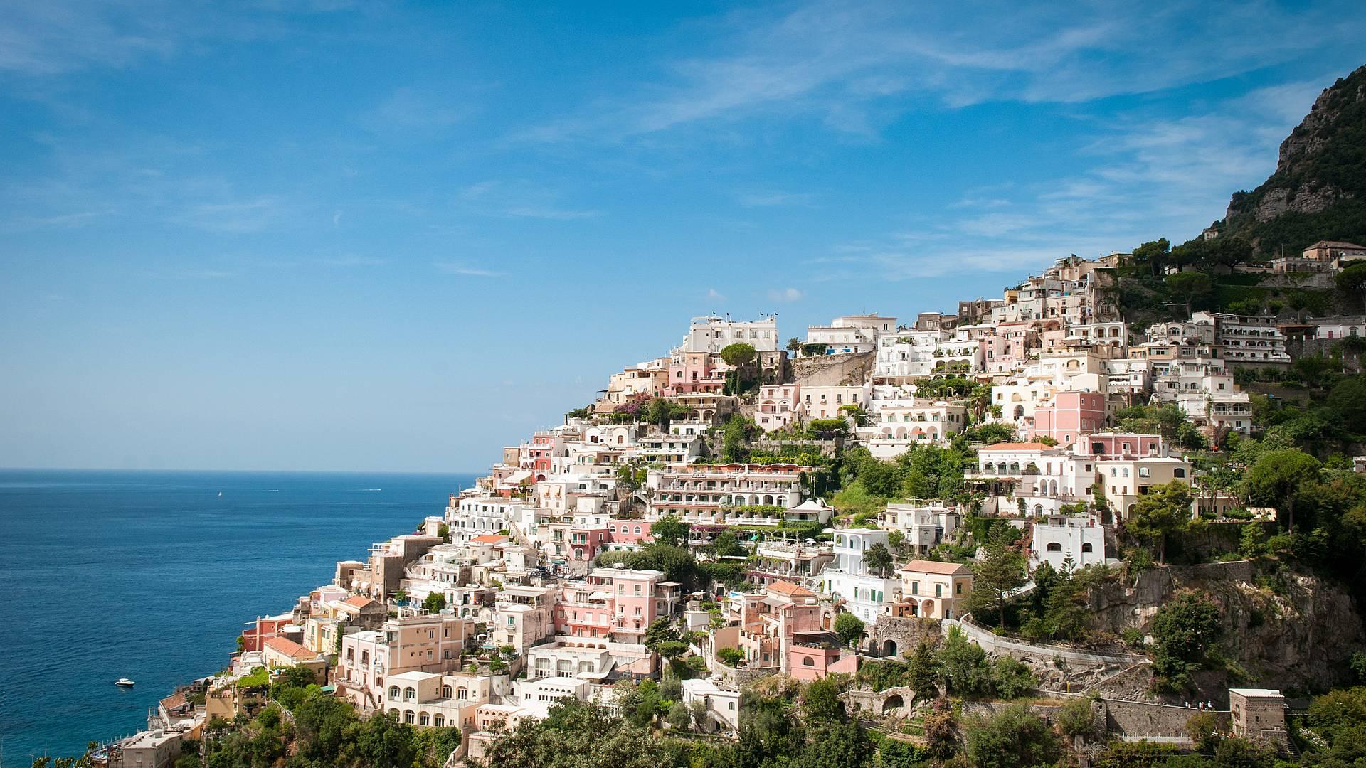 Naples, de la Côte Amalfitaine à la Péninsule de Sorrente