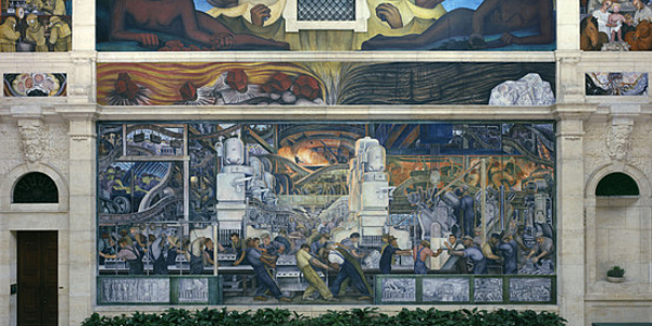 Diego Rivera, Detroit Industry