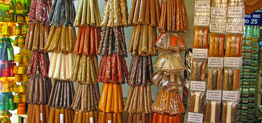 Especias de Sri Lanka