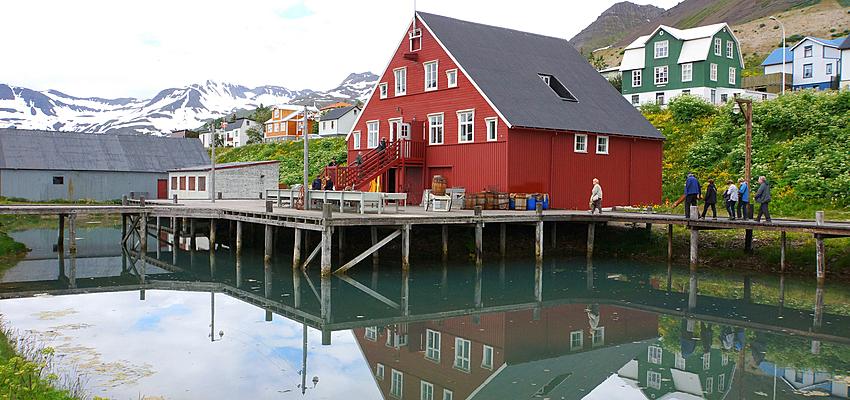 Un paisaje en Islandia
