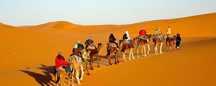 Abenteuer in der heißesten Wüste der Welt