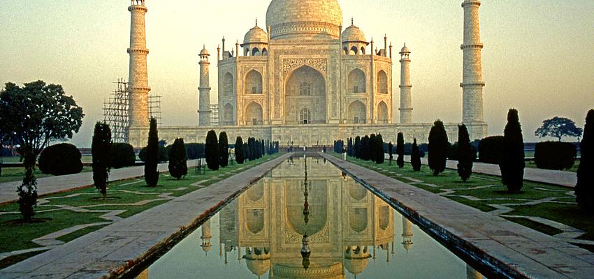 El Taj Mahal de la India