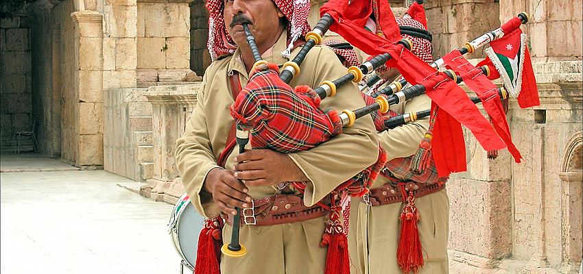 Instrumento de música de Jordania