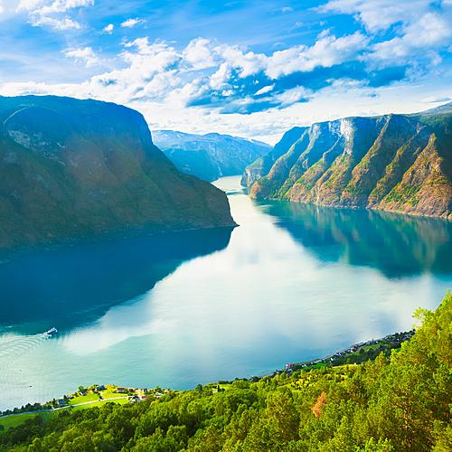 Tour complet des fjords norvégiens -