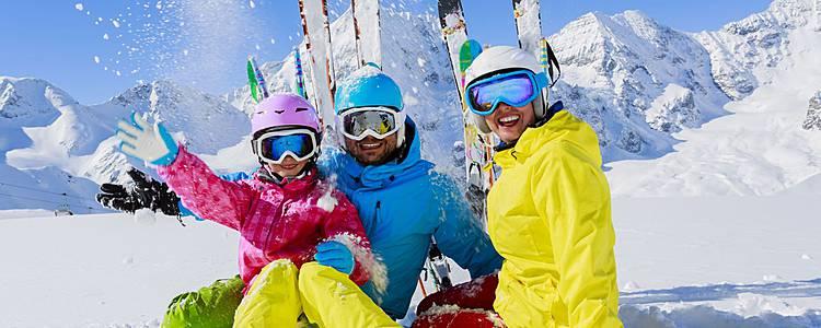 Skifahren und Snowboarden am Kaspischen Meer