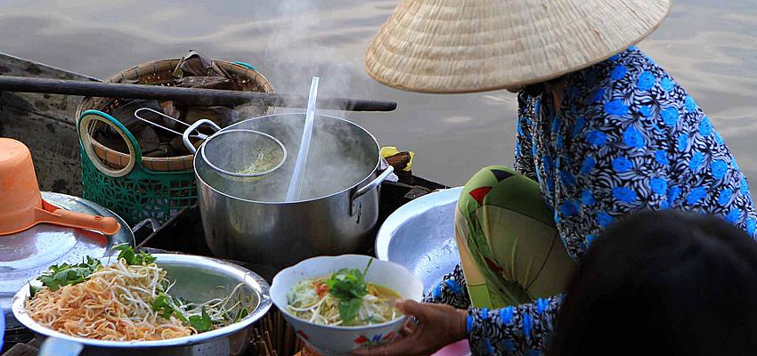 Marché eau Vietnam