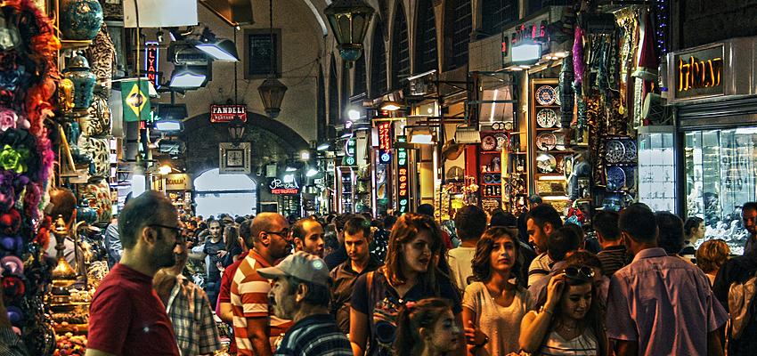 De compras por Turquía