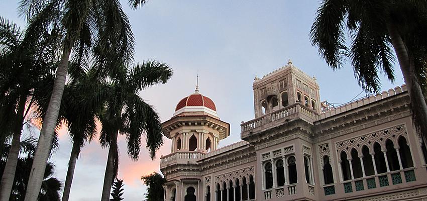 Edificio histórico en La Habana