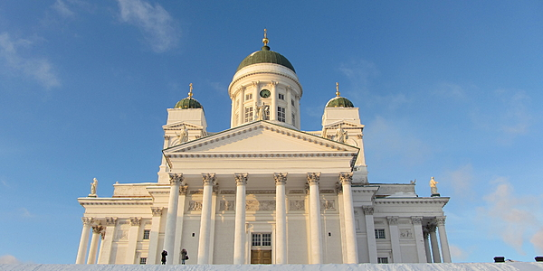 La iglesia blanca, Helsinki