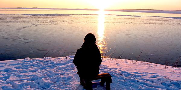 Coucher de soleil sur Suomenlinna