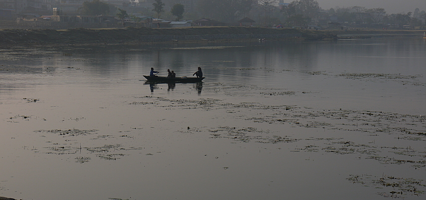 Rive Nord du Lac de Pokhara
