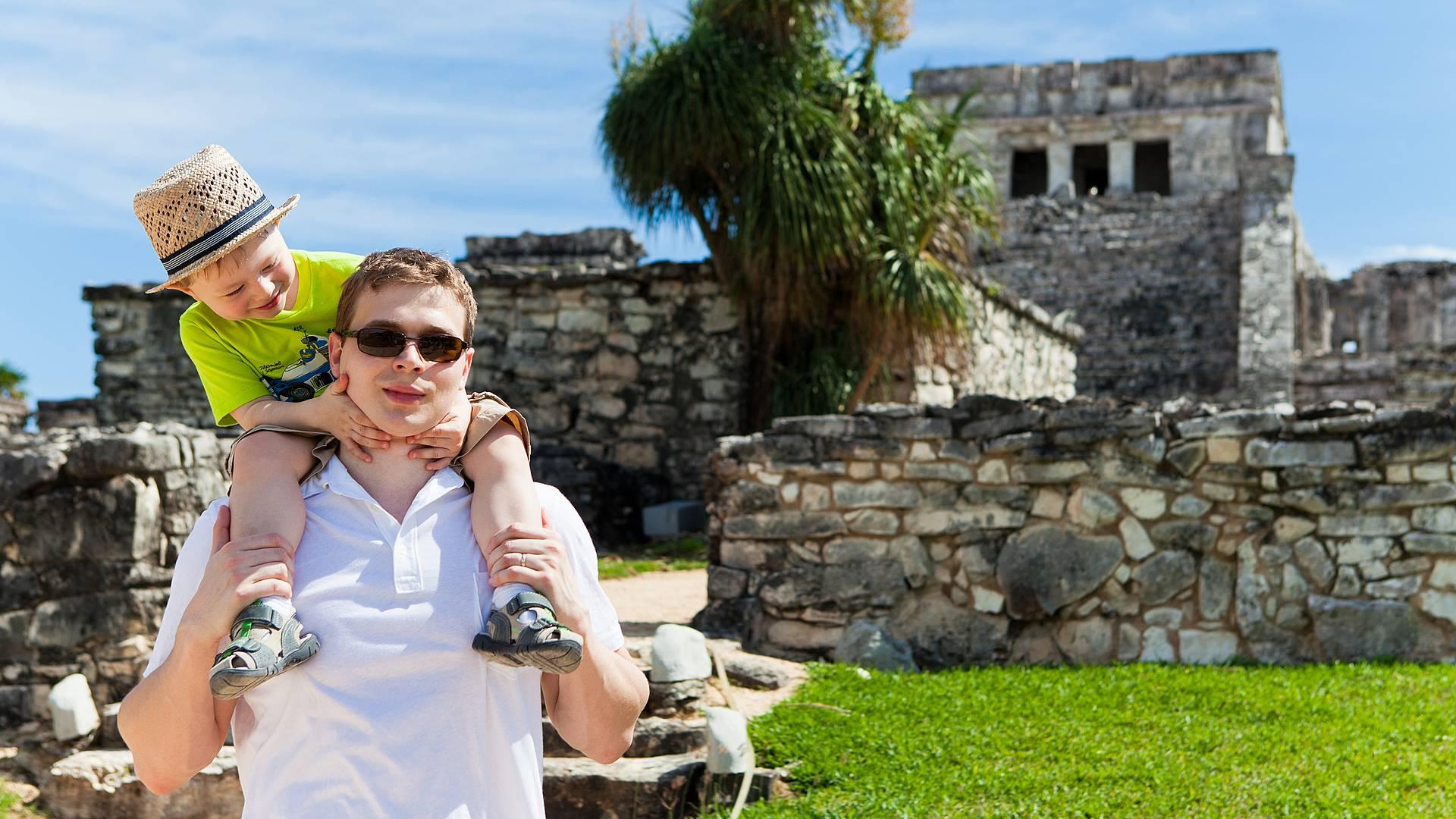 Avventure in famiglia nello Yucatan
