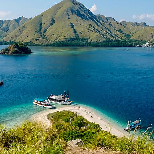 Croisière dans les petites îles de la Sonde -