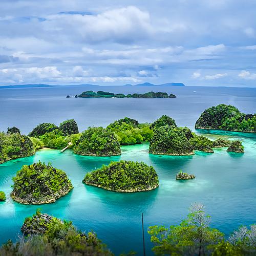 Croisière dans l'archipel des Molluques et des Raja Ampat -