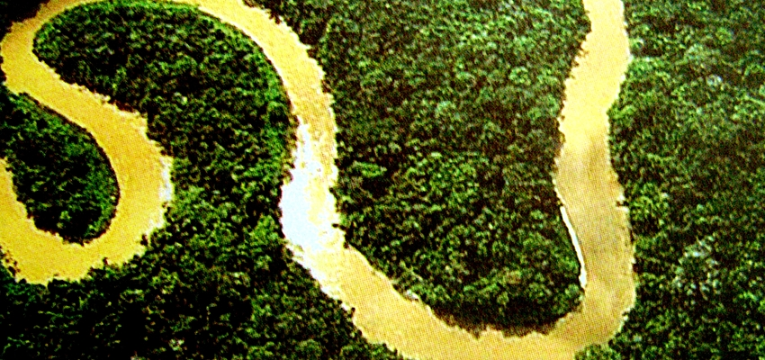 Río Solimões, en la Amazonía brasileña
