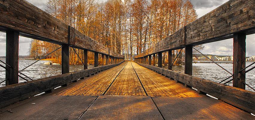 Les paysages finlandais, gratuits et sompteux