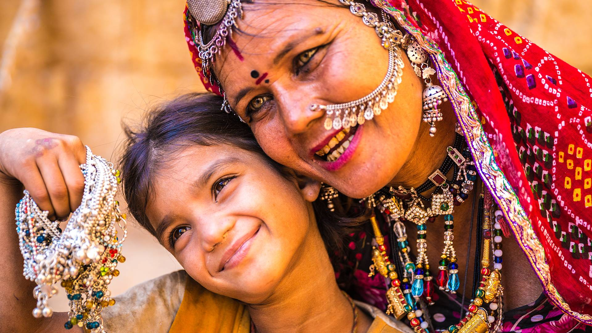 Il Rajasthan in famiglia