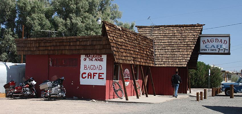 El verdadero Bagdad Café