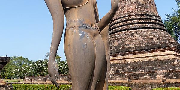 Buda caminando