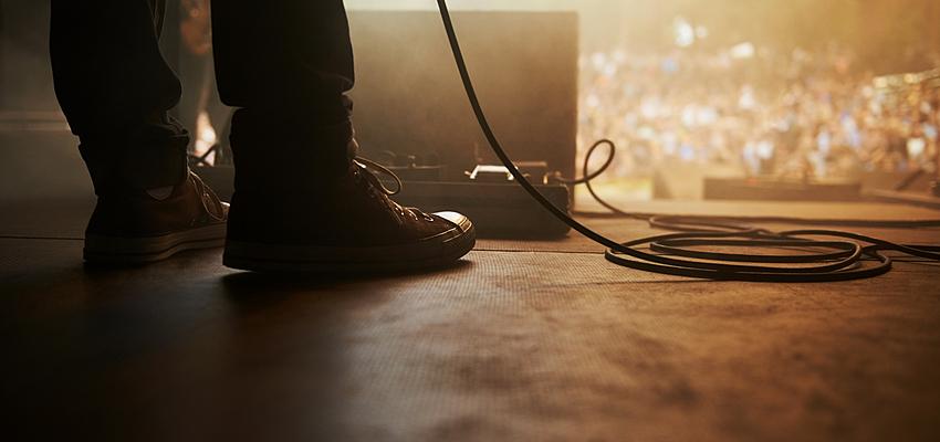 scène de concert rock