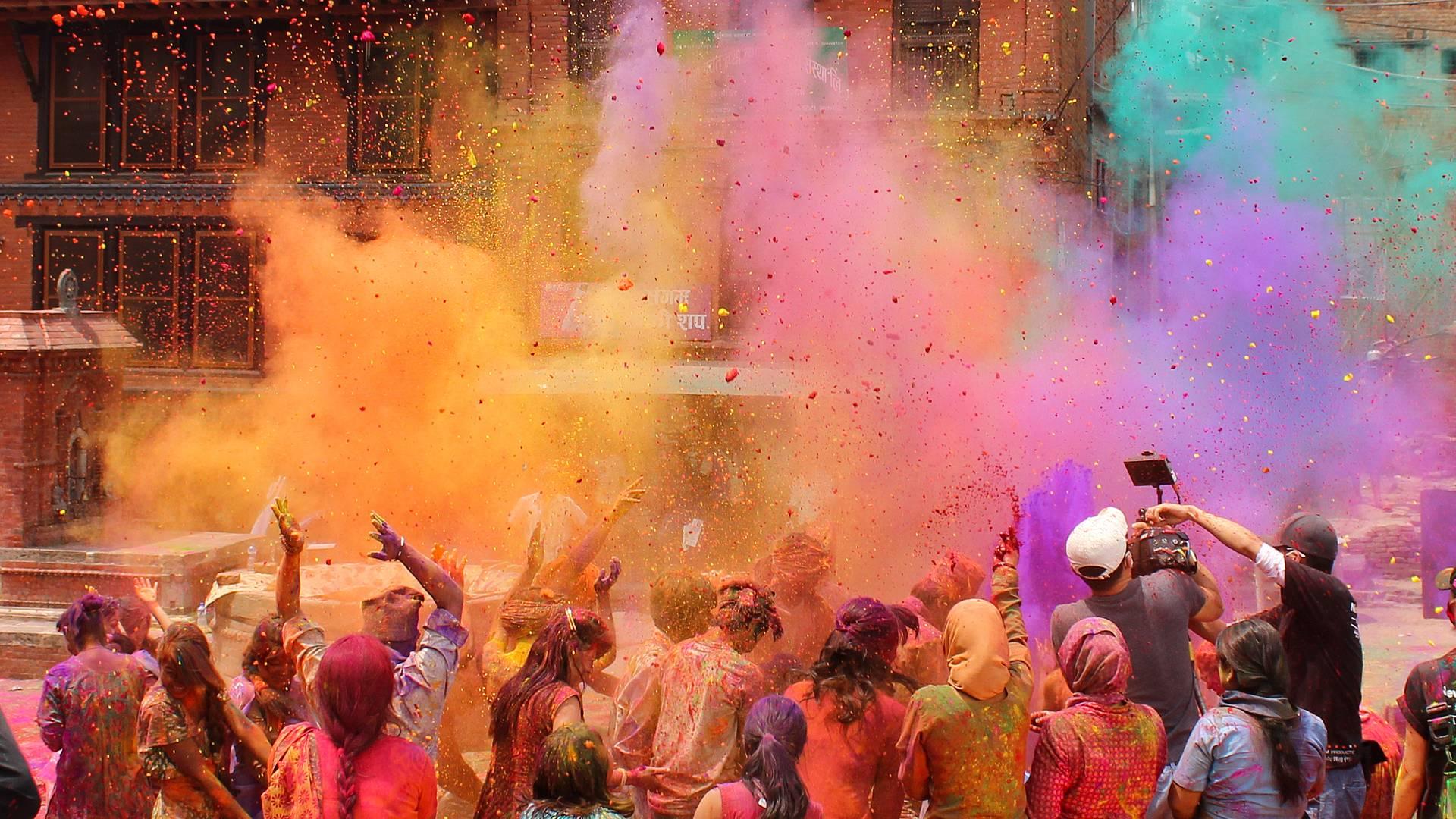 Das Fest der Farben im März