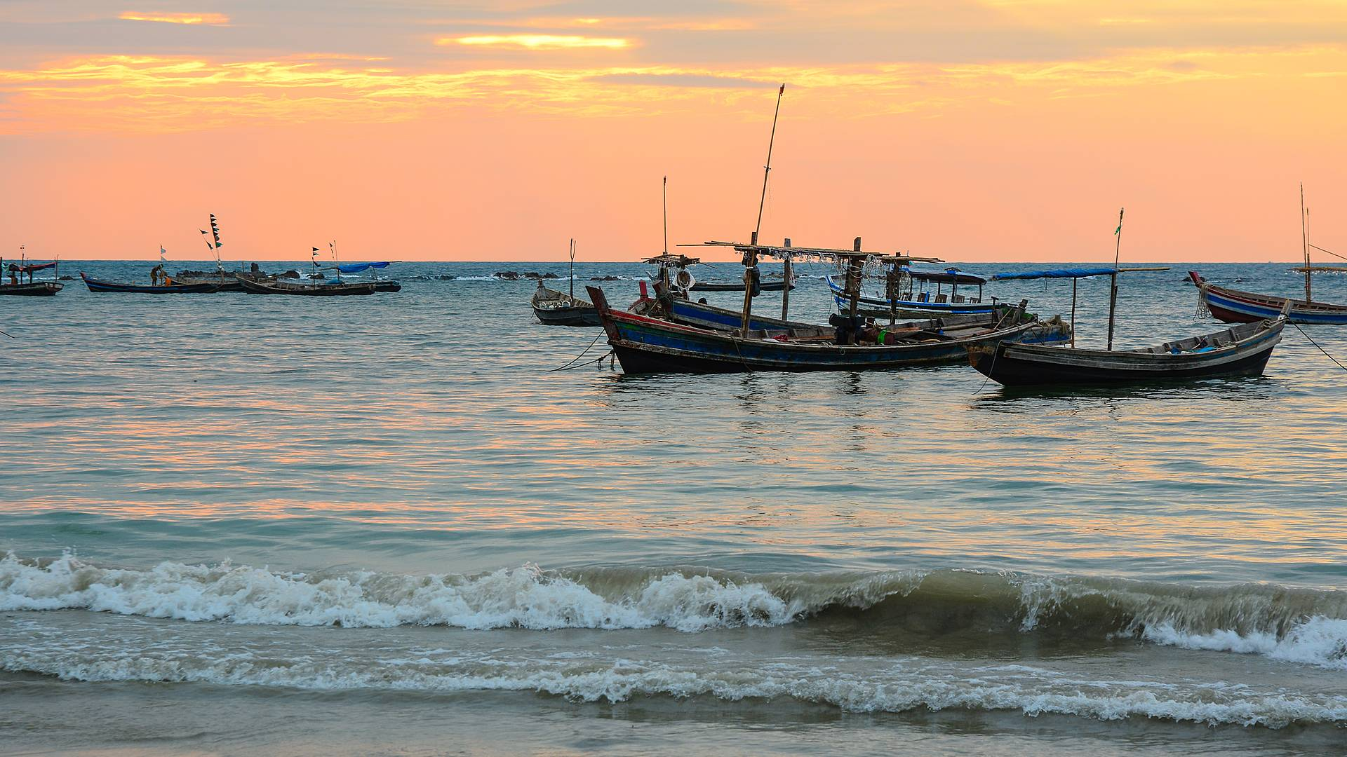 La cultura del Myanmar e il suo mare