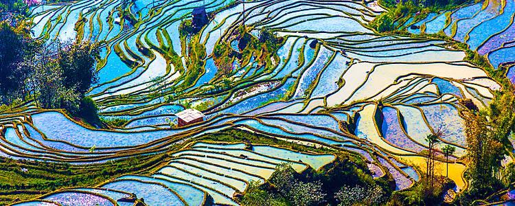 Wandern in der Provinz Yunnan