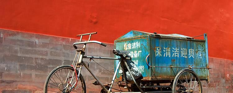 Das Reich der Radfahrer vom Sattel aus erkunden