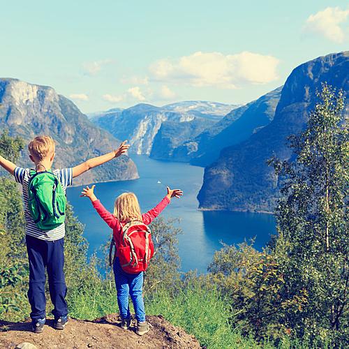 Les fjords norvégiens en famille -