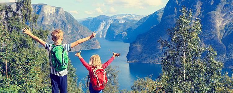 Les fjords norvégiens en famille
