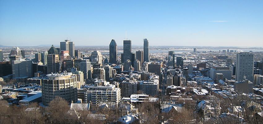 Vue du Mont-Royal à Montréal