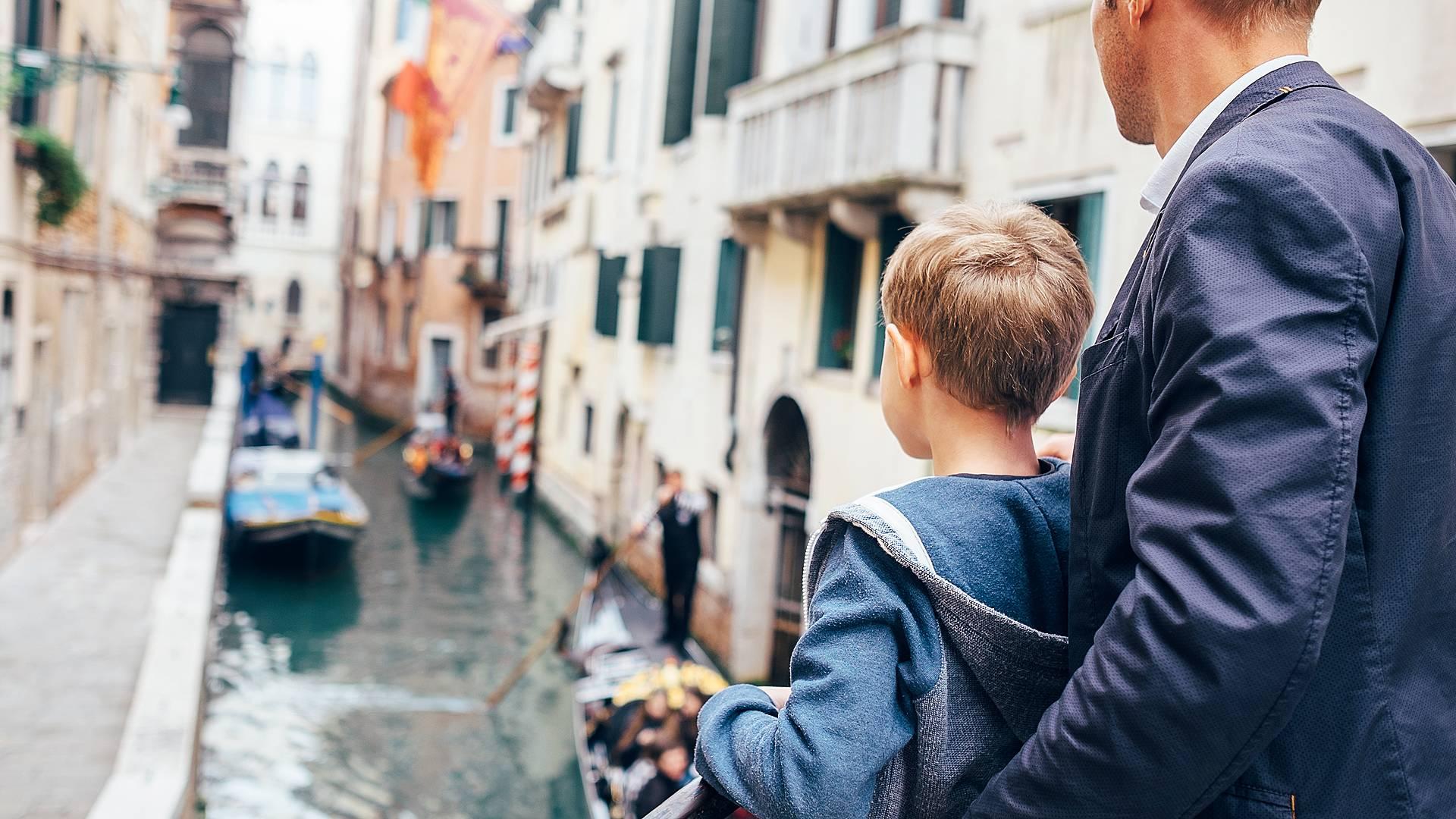 Familienabenteuer zwischen Venedig und Bologna