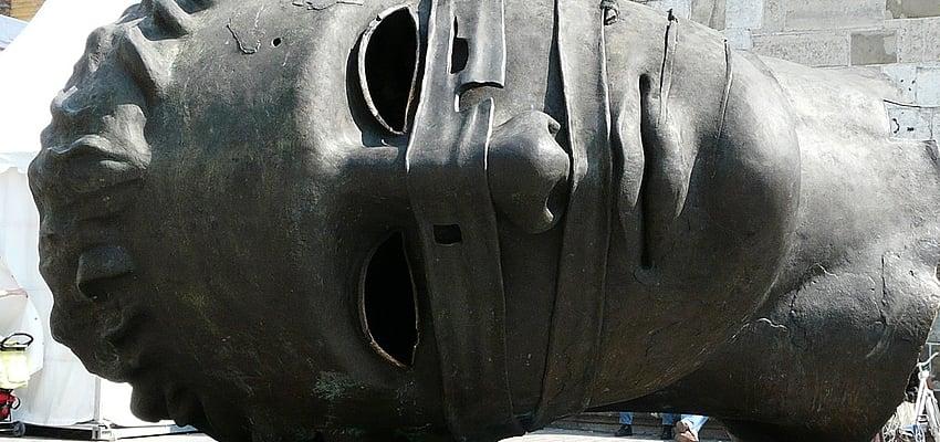 Sculpture à Cracovie en Pologne