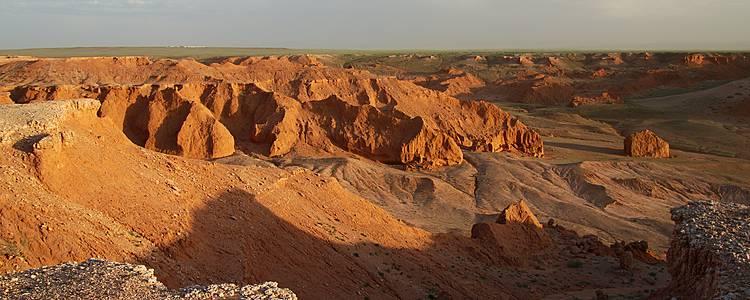 Imperdible visita al desierto de Gobi