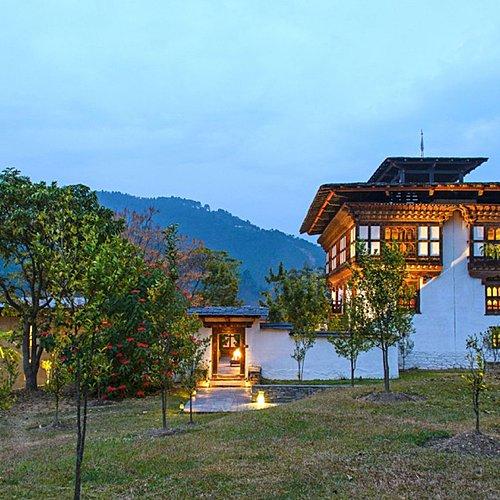 Le royaume hors du temps en lodge Aman - Paro -