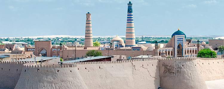 Tra le capitali dell'Asia Centrale