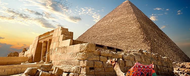 Les pyramides et le Nil en dahabieh