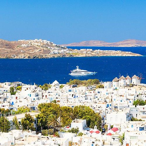 Circuit des Iles Cycladiques - Athènes -