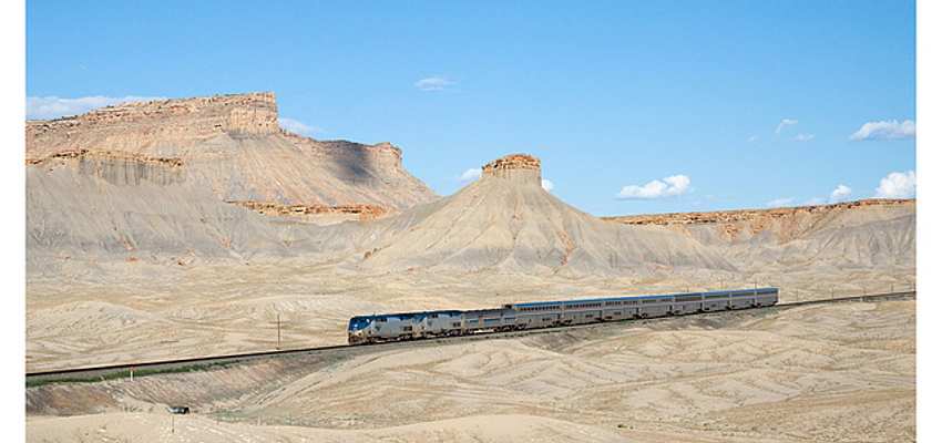 Línea California-Zephyr de la red Amtrak, Utah