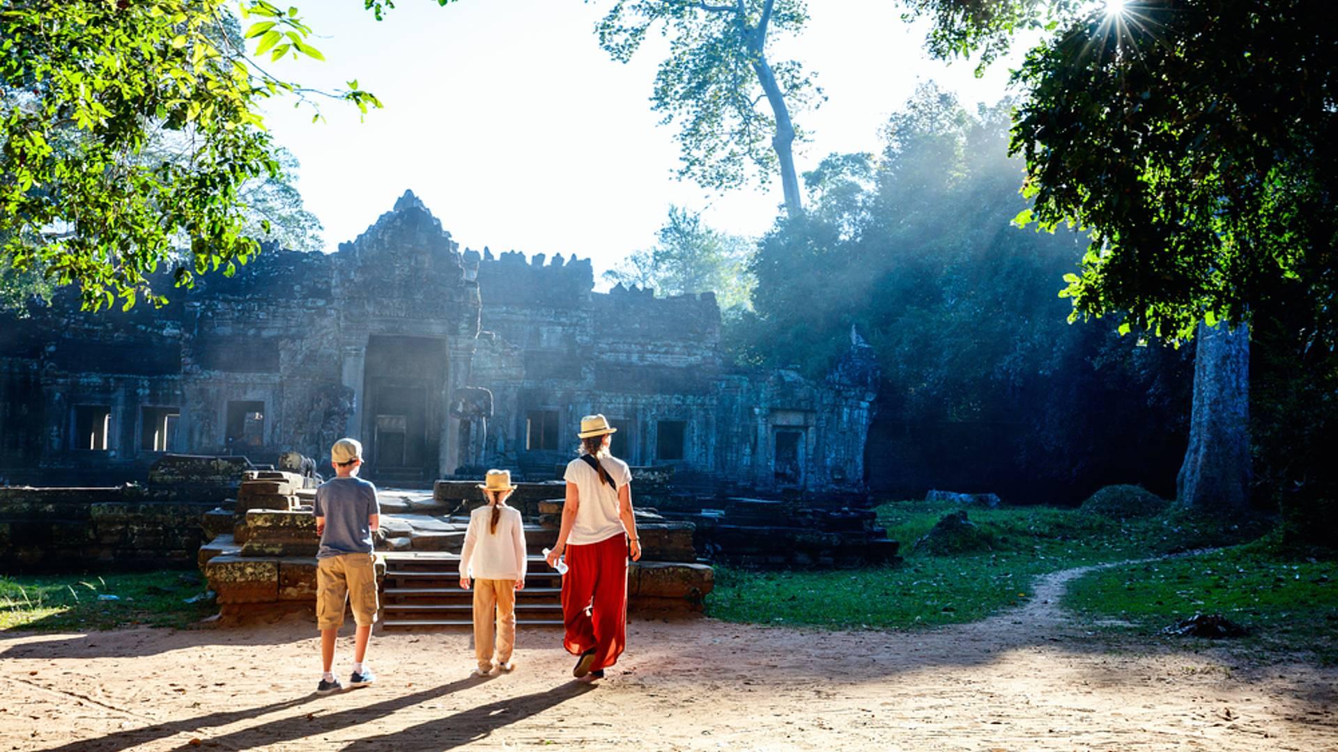 Familienurlaub in Vietnam und Kambodscha